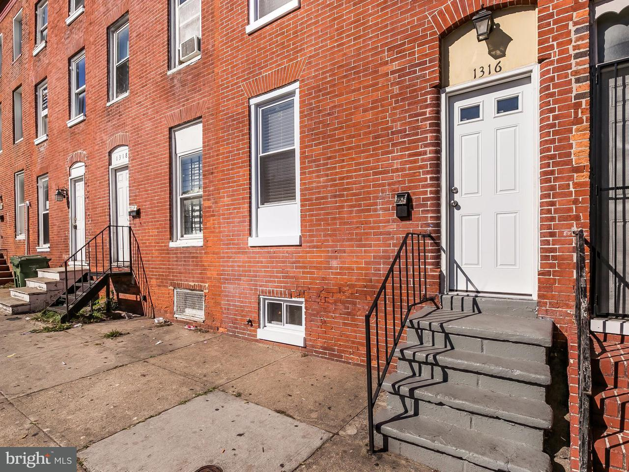 Other Residential for Rent at 1316 Pratt St Baltimore, Maryland 21223 United States