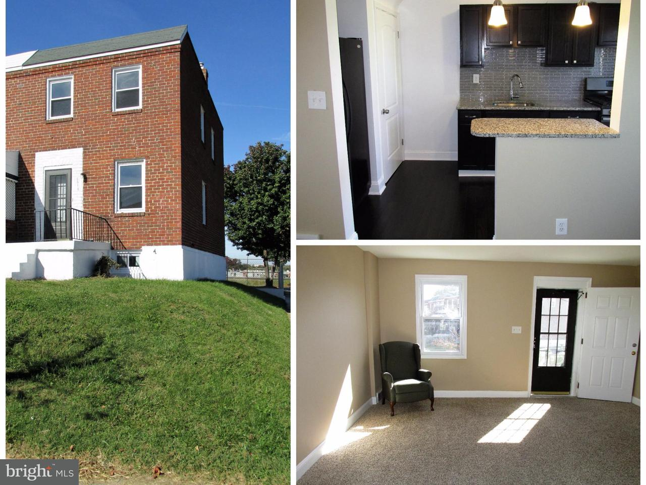 Other Residential for Rent at 6310 Danville Ave Baltimore, Maryland 21224 United States