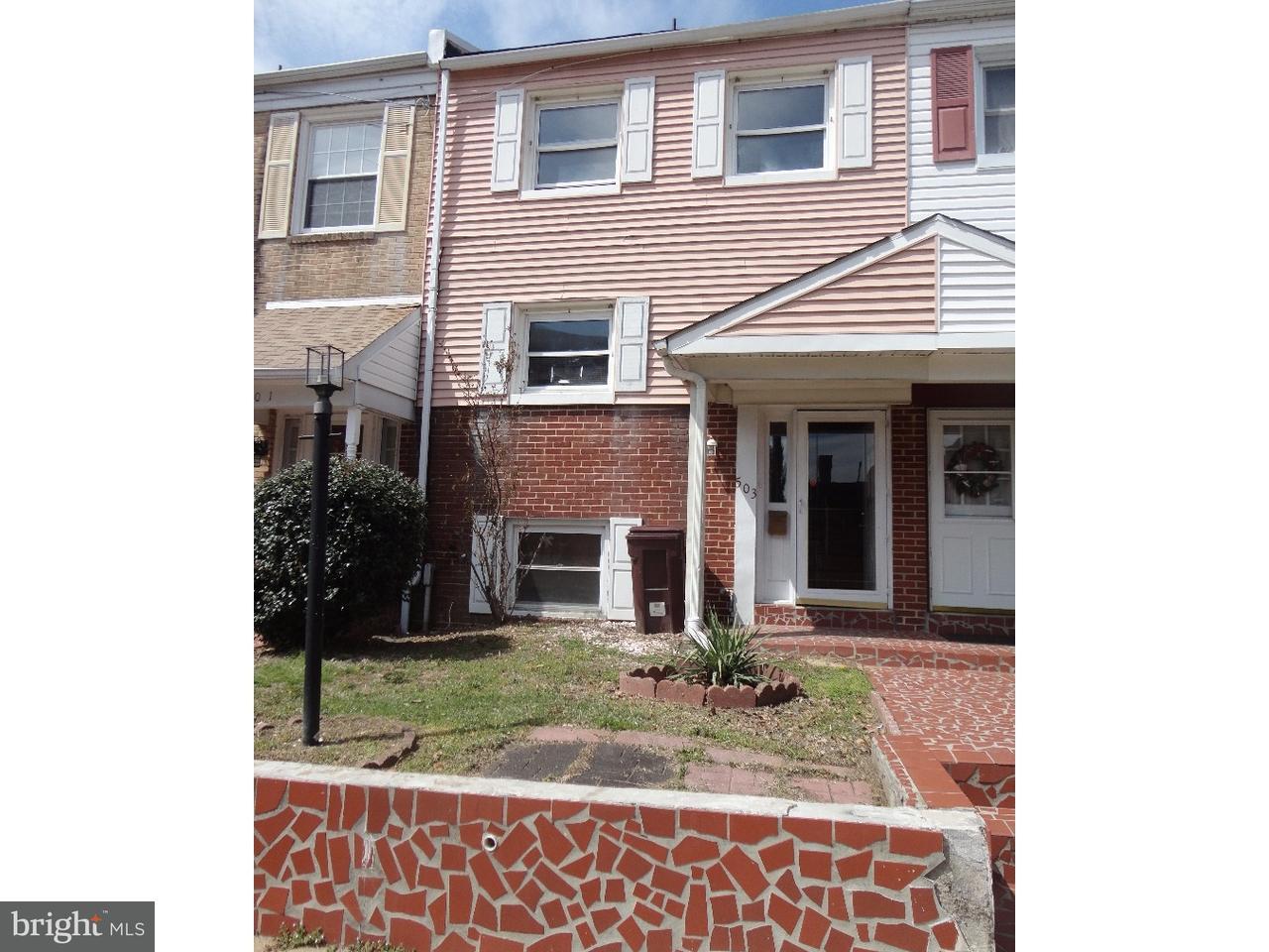 Maison accolée pour l Vente à 503 N PINE Street Wilmington, Delaware 19801 États-Unis