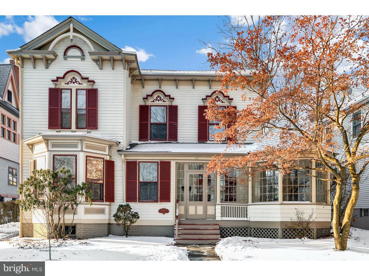 Частный односемейный дом для того Продажа на 25 HILL Street Morristown, Нью-Джерси 07960 Соединенные Штаты