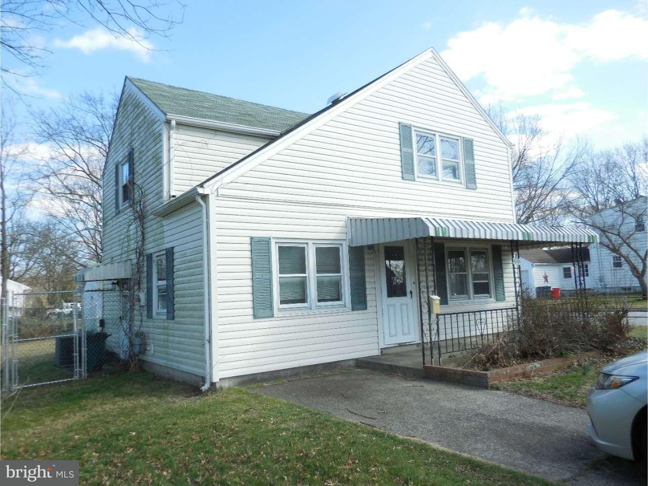 Частный односемейный дом для того Продажа на 439 HOLLYWOOD Avenue Carneys Point, Нью-Джерси 08069 Соединенные Штаты