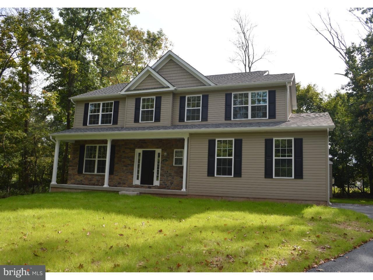 Частный односемейный дом для того Продажа на 725 SCHWAB Road Hatfield, Пенсильвания 19440 Соединенные Штаты