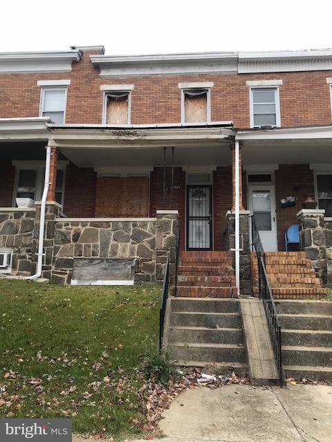 Single Family for Sale at 2626 Cecil Ave Baltimore, Maryland 21218 United States