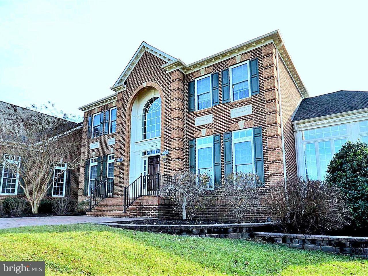 Частный односемейный дом для того Продажа на 2007 FLOURMILL Court 2007 FLOURMILL Court Crownsville, Мэриленд 21032 Соединенные Штаты