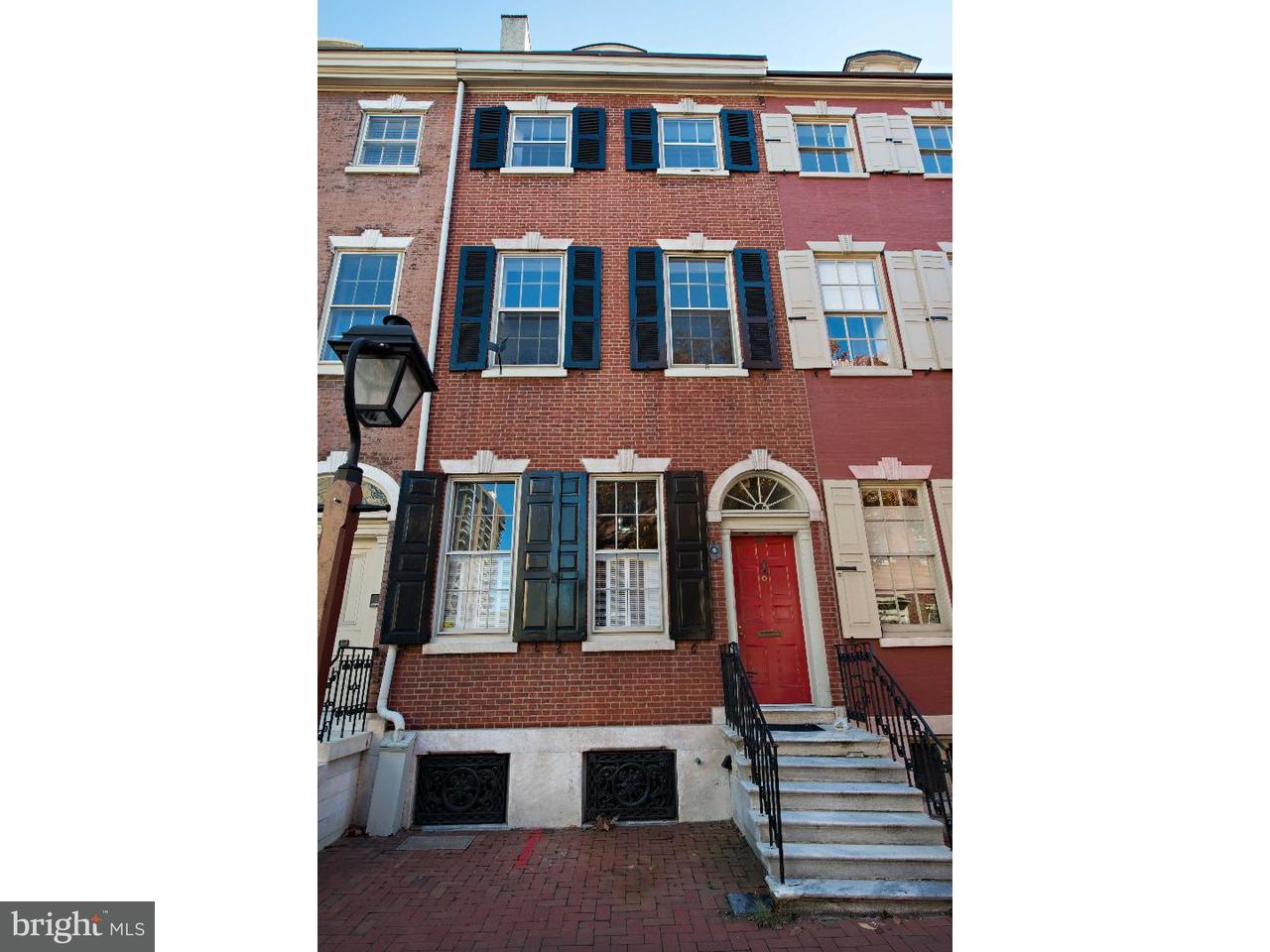 联栋屋 为 出租 在 273 S 4TH Street 费城, 宾夕法尼亚州 19106 美国