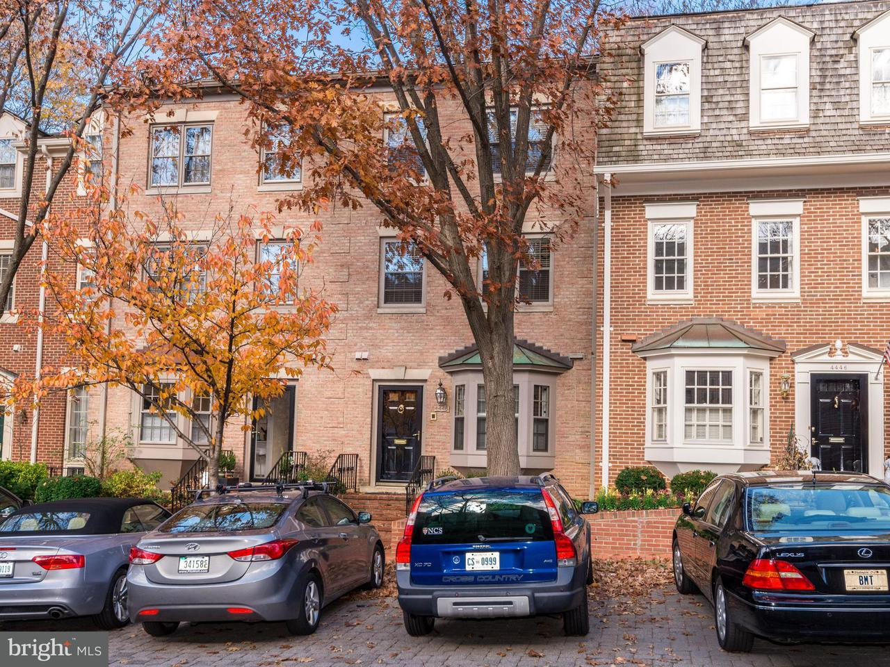 多棟聯建住宅 為 出售 在 4448 WESTOVER PL NW 4448 WESTOVER PL NW Washington, 哥倫比亞特區 20016 美國