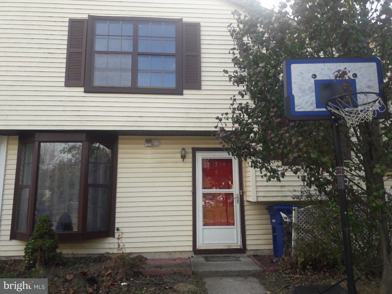 Таунхаус для того Аренда на 4 KANABE Drive Westampton, Нью-Джерси 08060 Соединенные Штаты
