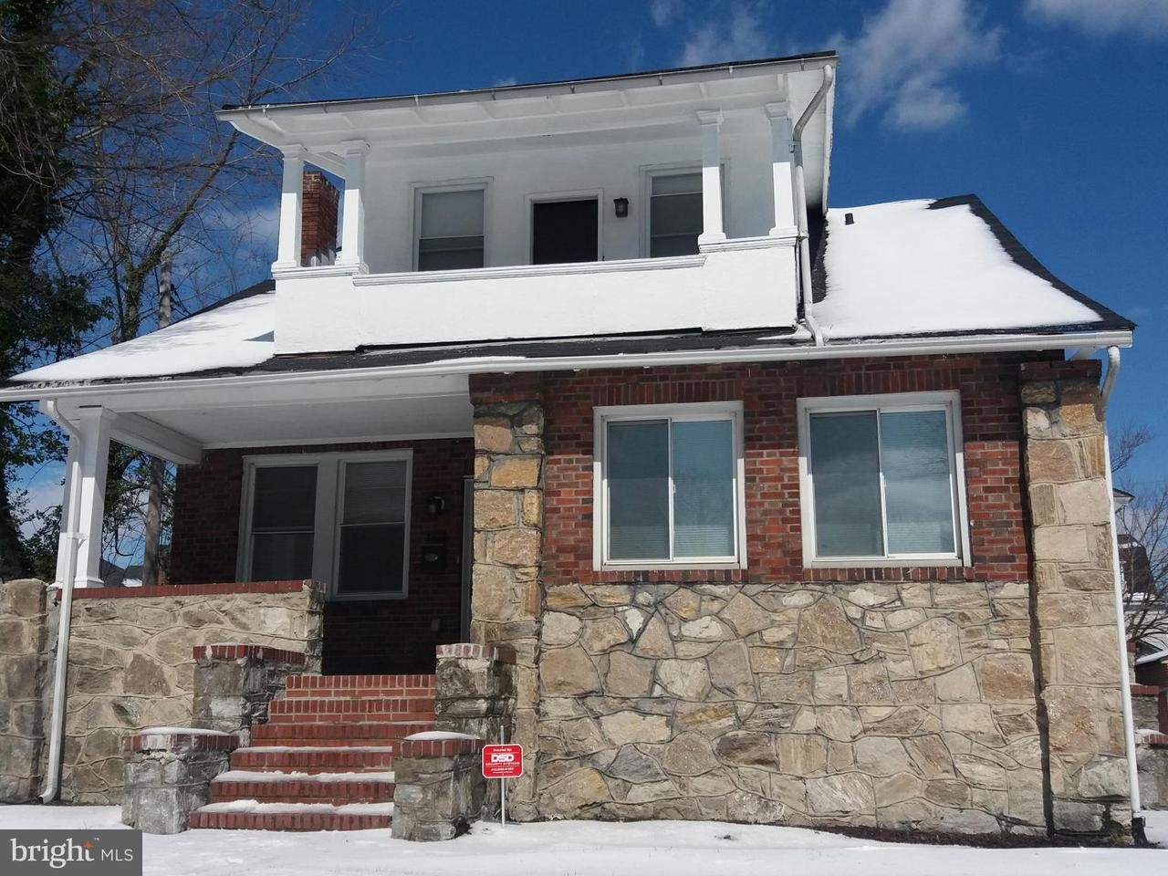 Single Family for Sale at 3412 Bateman Ave Baltimore, Maryland 21216 United States