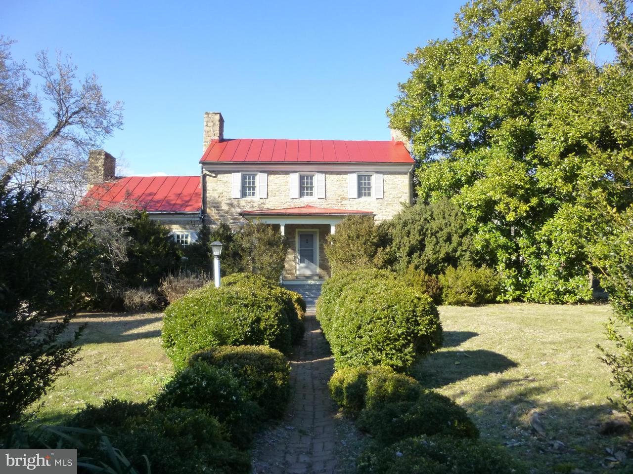 단독 가정 주택 용 매매 에 437 YANCEY Road 437 YANCEY Road Woodville, 버지니아 22749 미국