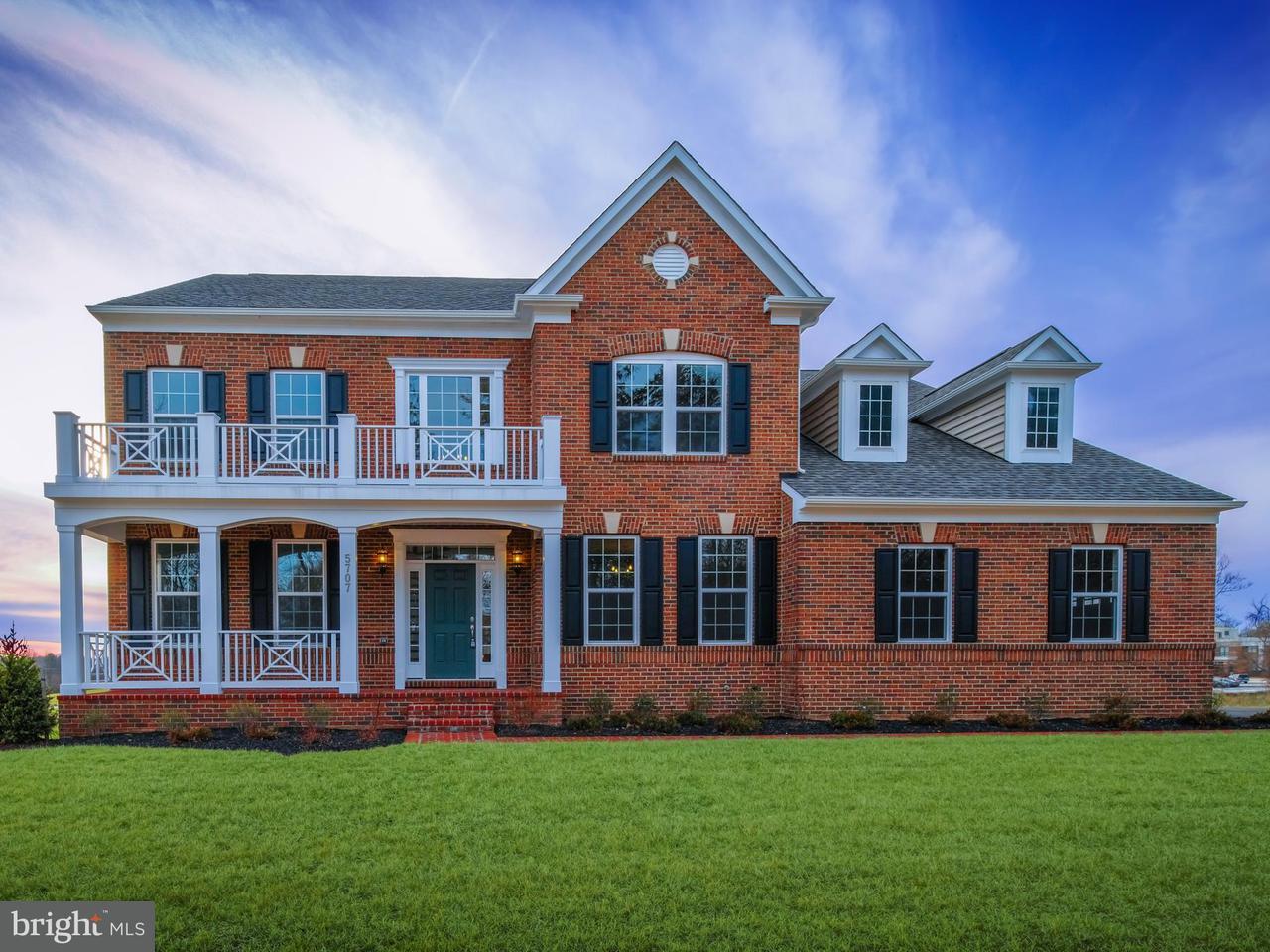 Maison unifamiliale pour l Vente à 5707 Achille Lane 5707 Achille Lane Rockville, Maryland 20855 États-Unis