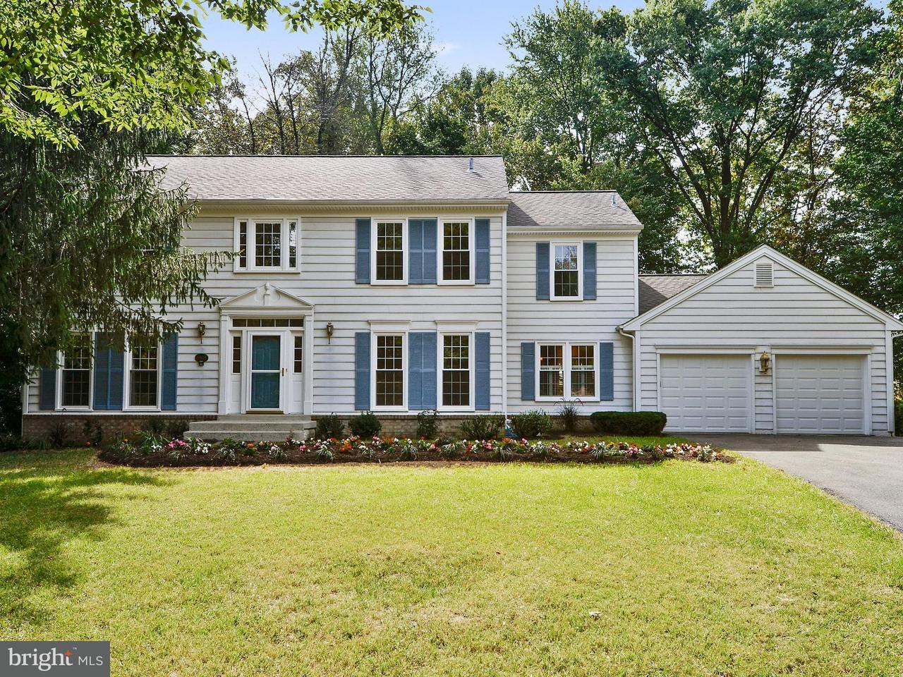 Частный односемейный дом для того Продажа на 8503 SILVERFIELD Circle 8503 SILVERFIELD Circle Montgomery Village, Мэриленд 20886 Соединенные Штаты
