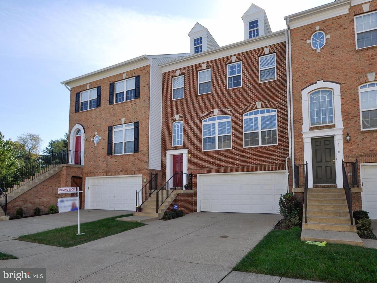 Townhouse for Sale at 7332 HAMPTON MANOR Place 7332 HAMPTON MANOR Place Springfield, Virginia 22150 United States