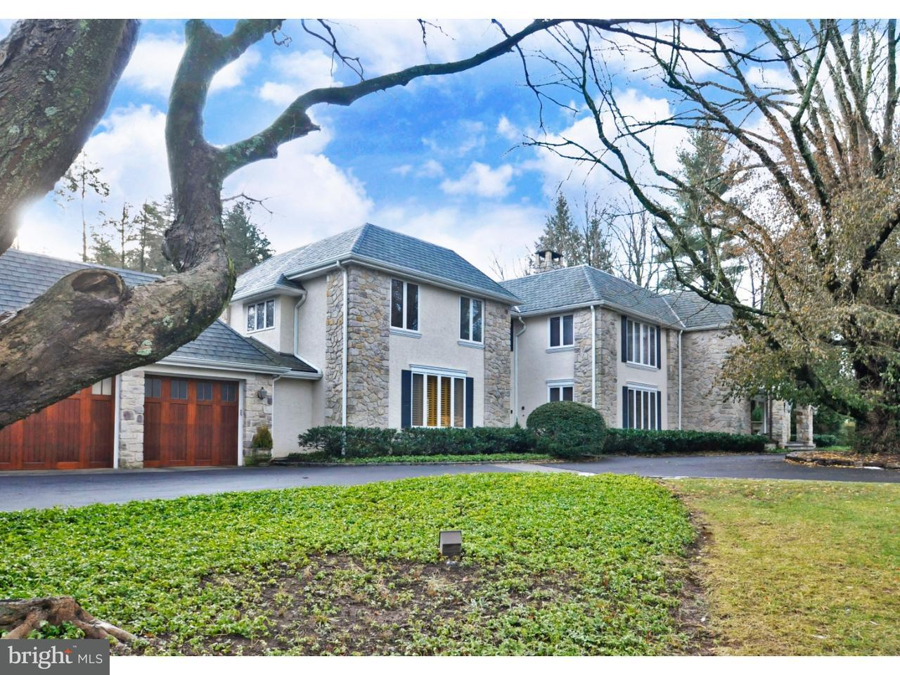 Maison unifamiliale pour l Vente à 1125 MILL Road Rydal, Pennsylvanie 19046 États-Unis