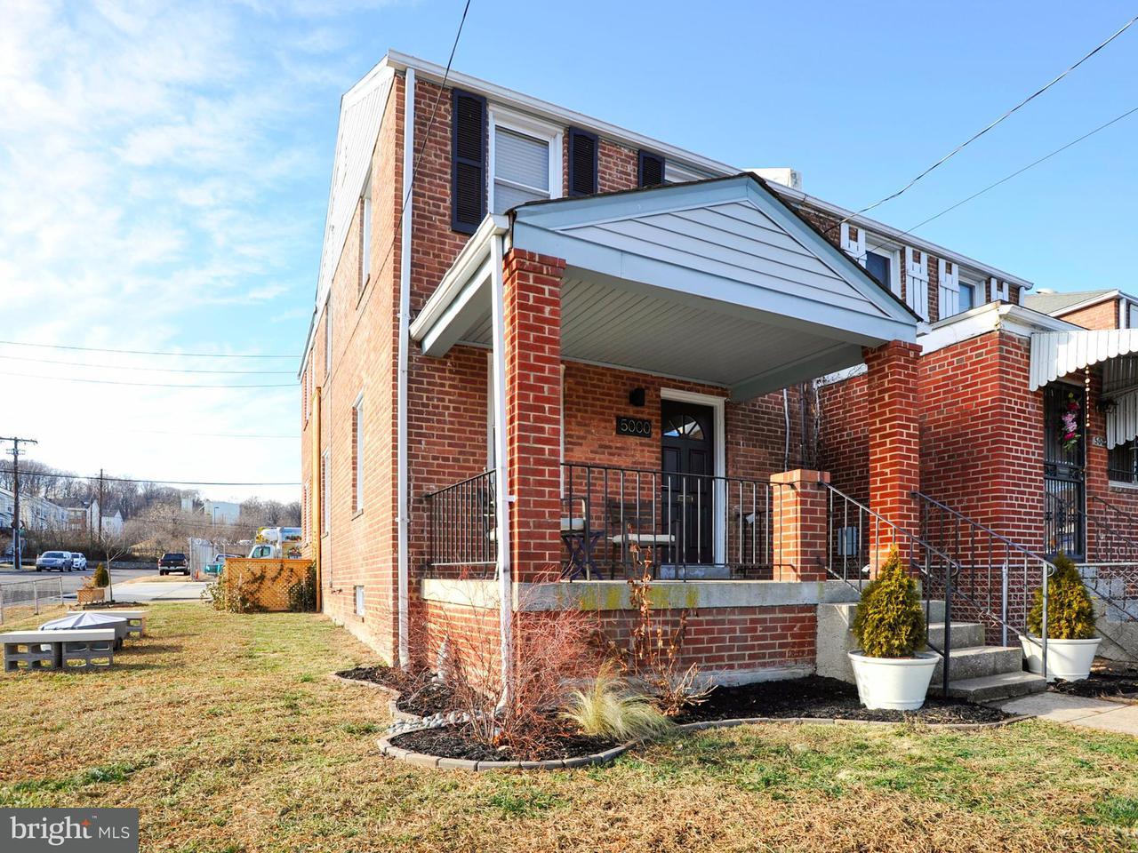 Casa unifamiliar adosada (Townhouse) por un Venta en 5000 6TH PL NE 5000 6TH PL NE Washington, Distrito De Columbia 20017 Estados Unidos