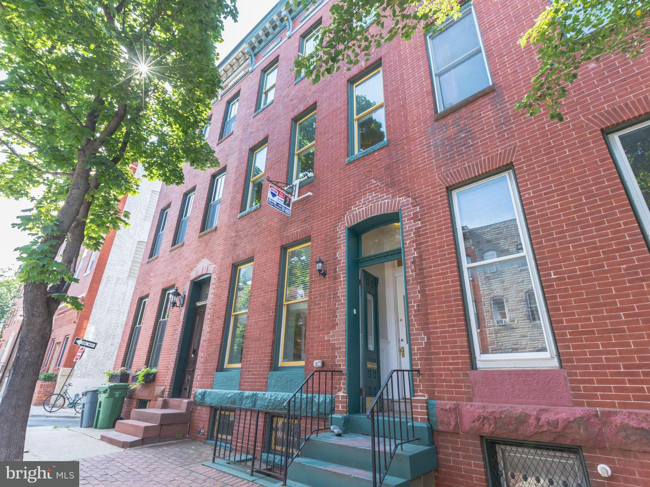 Other Residential for Sale at 2113 Pratt St E Baltimore, Maryland 21231 United States