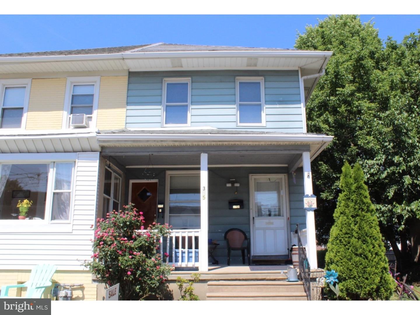 Duplex for Sale at 315 S PENN Street Clifton Heights, Pennsylvania 19018 United States
