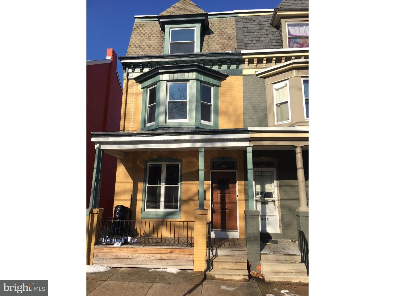 Townhouse for Rent at 433 CHESTNUT Street West Reading, Pennsylvania 19611 United States