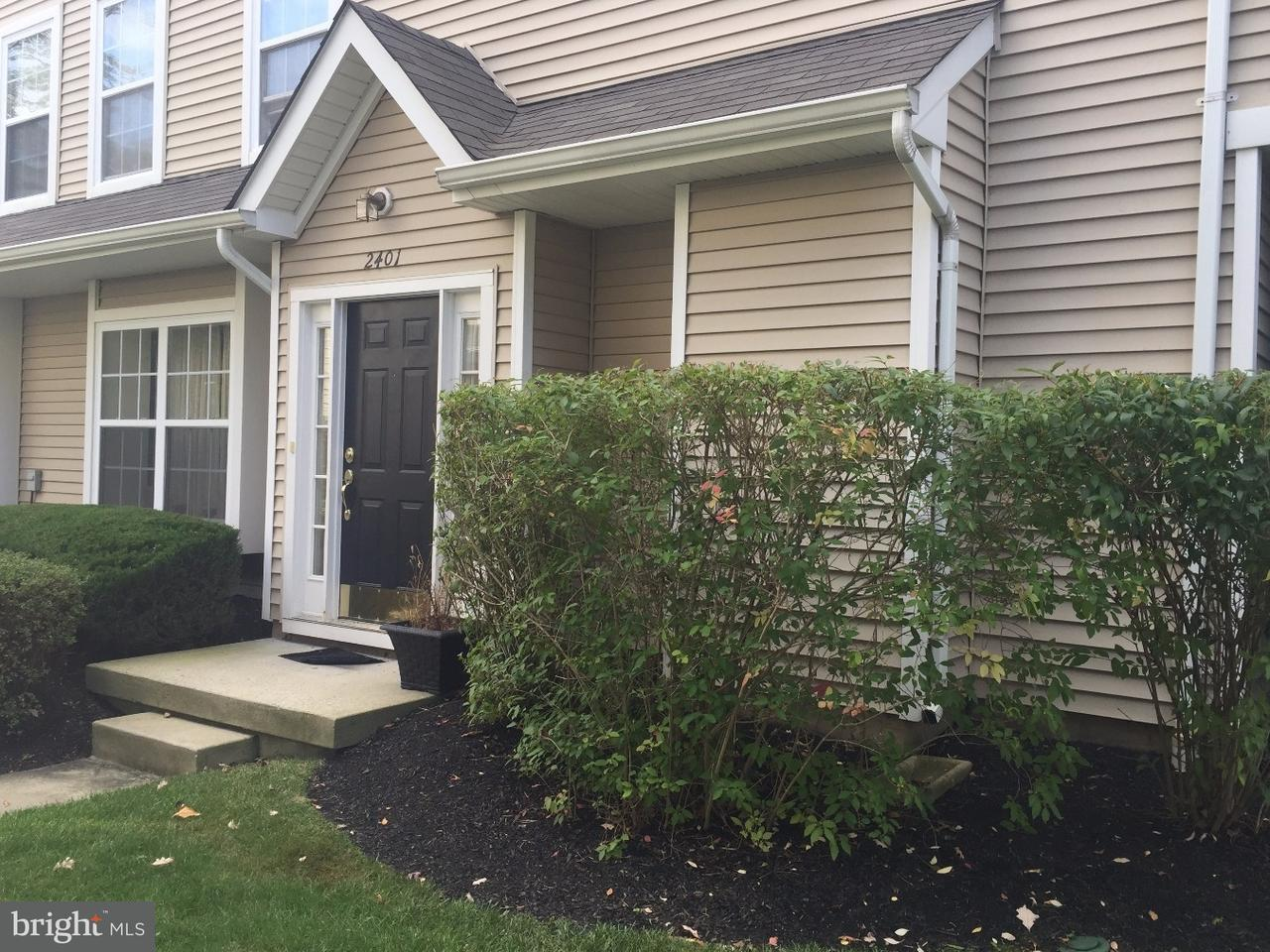 Condominium for Rent at 2401 DELANCEY WAY Marlton, New Jersey 08053 United States