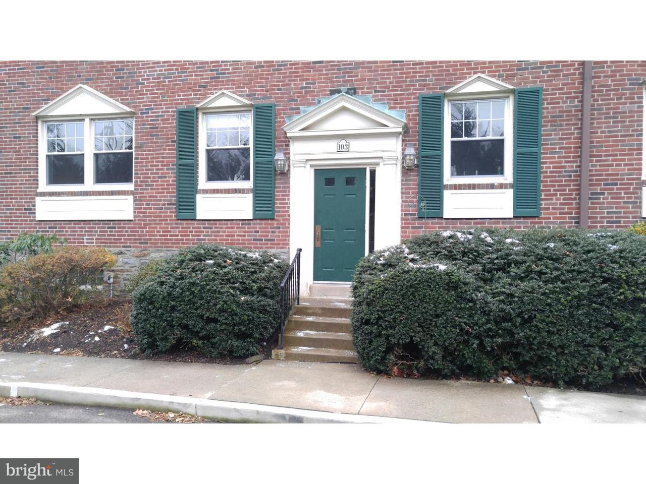 Single Family Home for Rent at 500 E LANCASTER AVE #103B Wayne, Pennsylvania 19087 United States