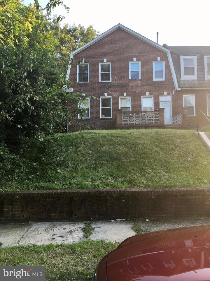 Single Family for Sale at 3309 Forest Park Ave Baltimore, Maryland 21216 United States