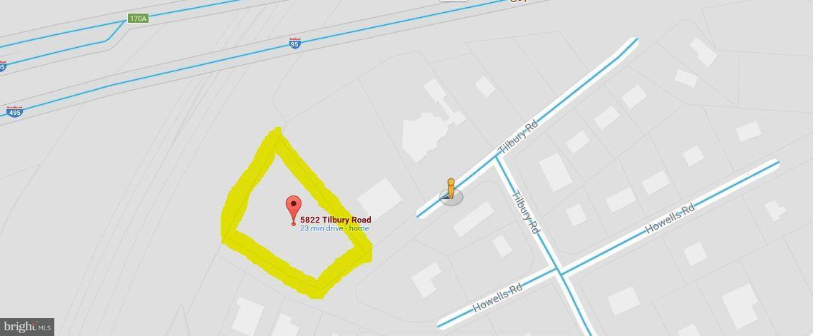 Terreno por un Venta en 5822a Tilbury Road 5822a Tilbury Road Alexandria, Virginia 22310 Estados Unidos