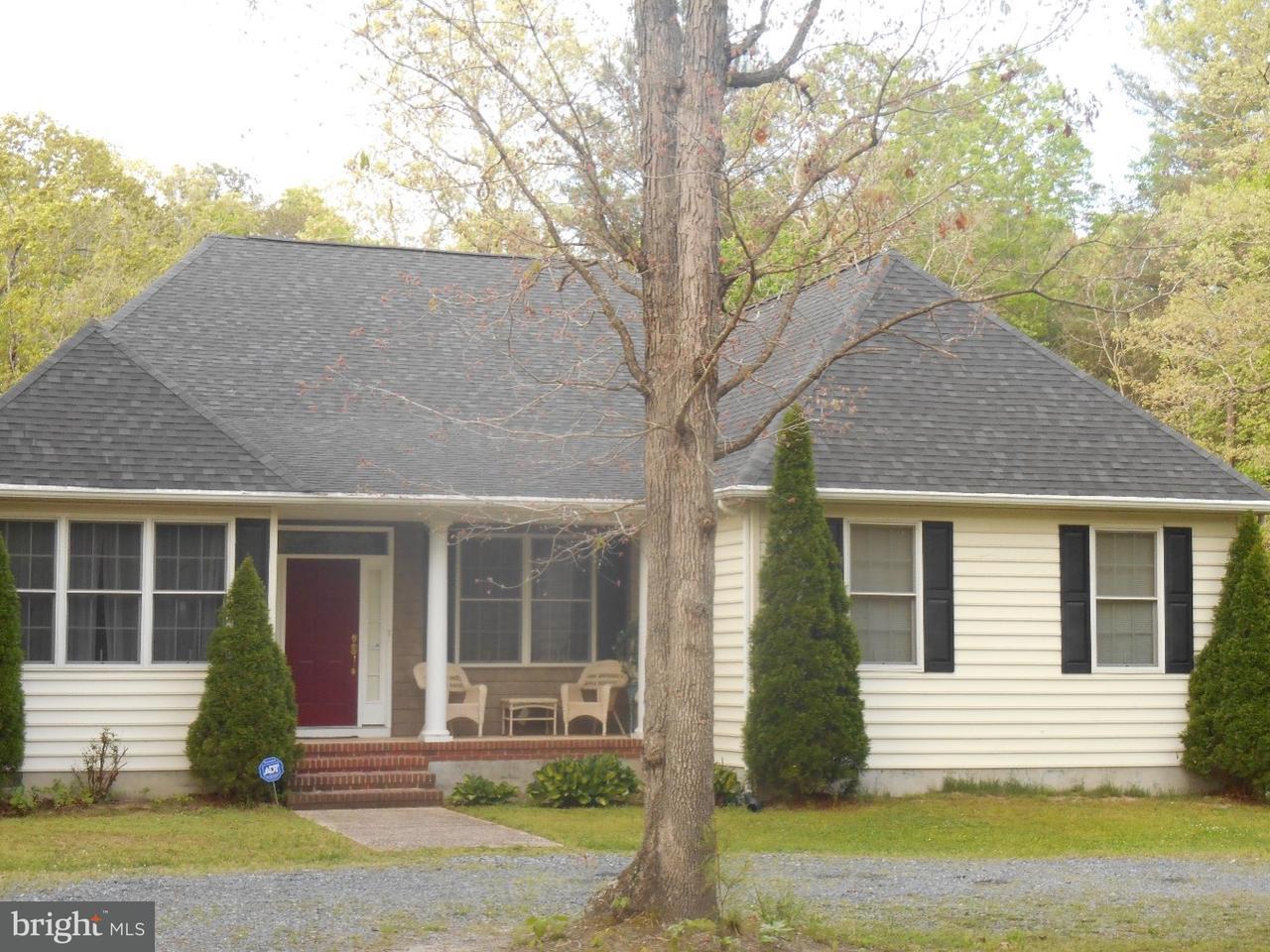 Частный односемейный дом для того Продажа на 16887 SAND HILL Road Milton, Делавэр 19968 Соединенные Штаты