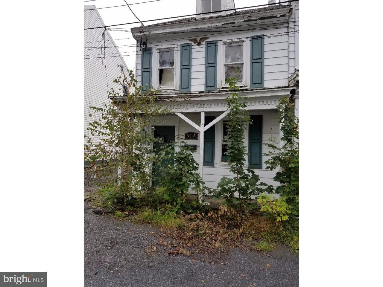 联栋屋 为 出租 在 512 W ATLANTIC Street Shenandoah, 宾夕法尼亚州 17976 美国
