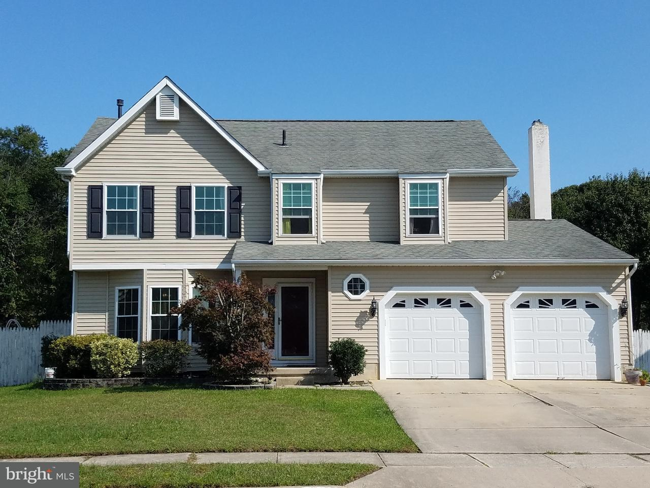 独户住宅 为 销售 在 103 GLASGOW Road Williamstown, 新泽西州 08094 美国在/周边: Monroe Township