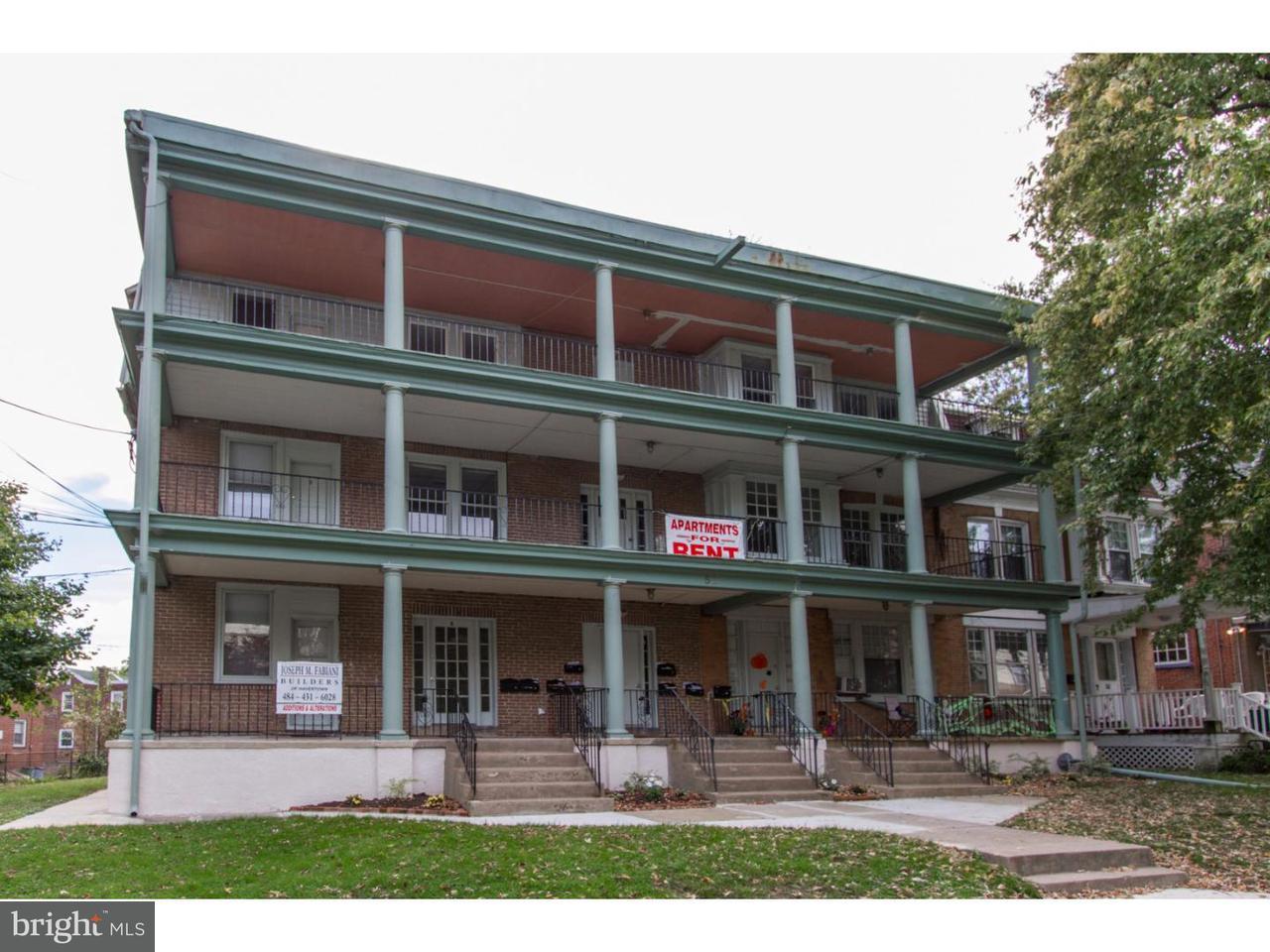 Maison unifamiliale pour l à louer à 52-54 E STRATFORD AVE #C Lansdowne, Pennsylvanie 19050 États-Unis