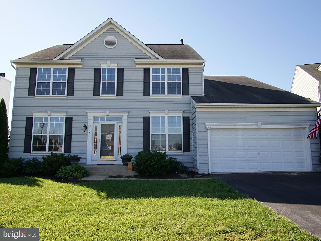 Casa Unifamiliar por un Venta en 5845 BOTTLEBRUSH Court 5845 BOTTLEBRUSH Court New Market, Maryland 21774 Estados Unidos
