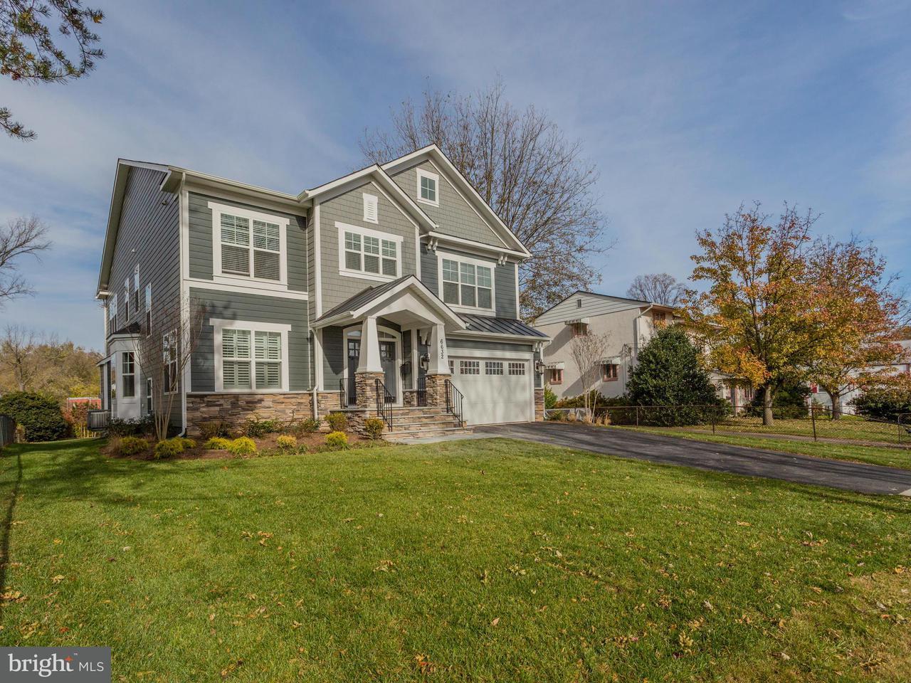 Single Family Home for Sale at 6632 HALLWOOD Avenue 6632 HALLWOOD Avenue Falls Church, Virginia 22046 United States