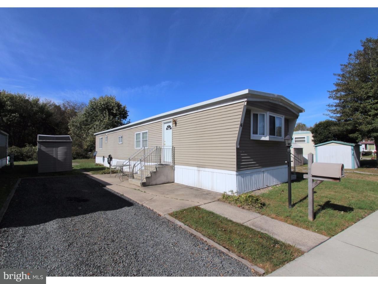 移动之家 为 销售 在 4 PHEASANT Circle Southampton, 新泽西州 08088 美国