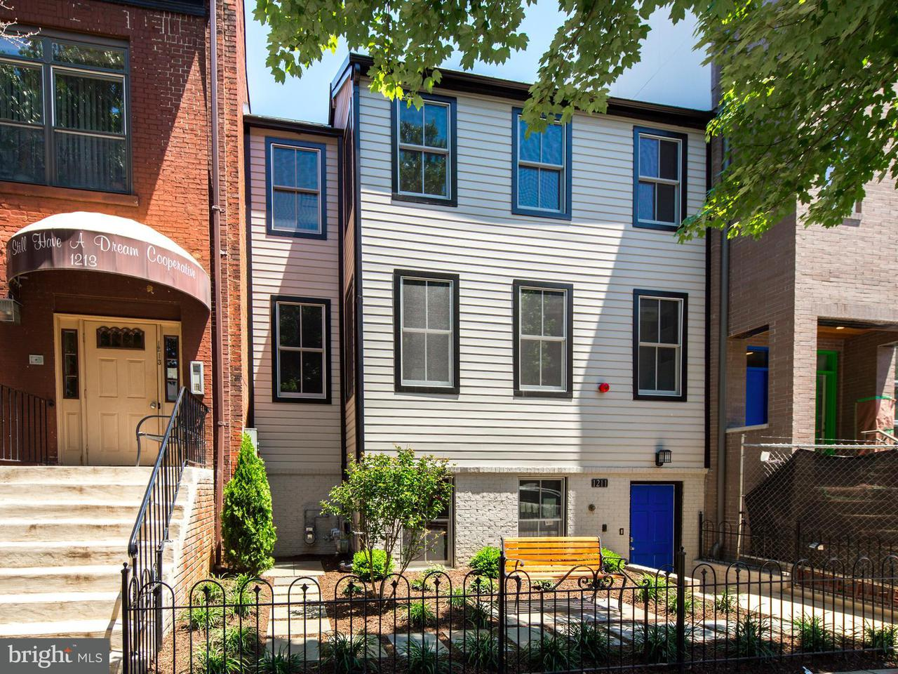 Condominium for Sale at 1211 10th St NW #2 Washington, District Of Columbia 20001 United States