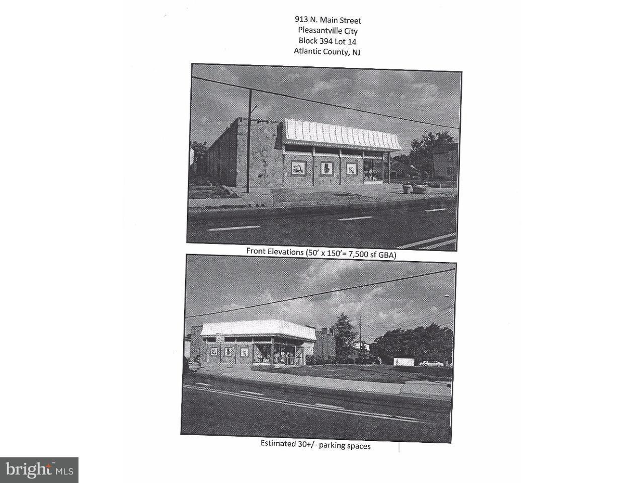 独户住宅 为 销售 在 913 N MAIN Street Pleasantville, 新泽西州 08232 美国