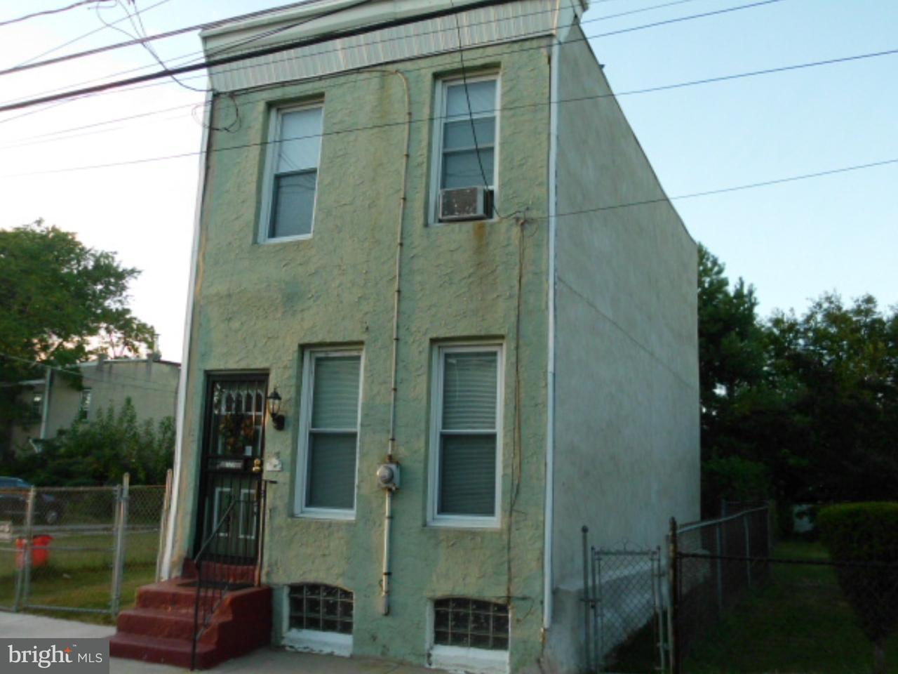 Частный односемейный дом для того Продажа на 729 CHERRY Street Camden, Нью-Джерси 08103 Соединенные Штаты