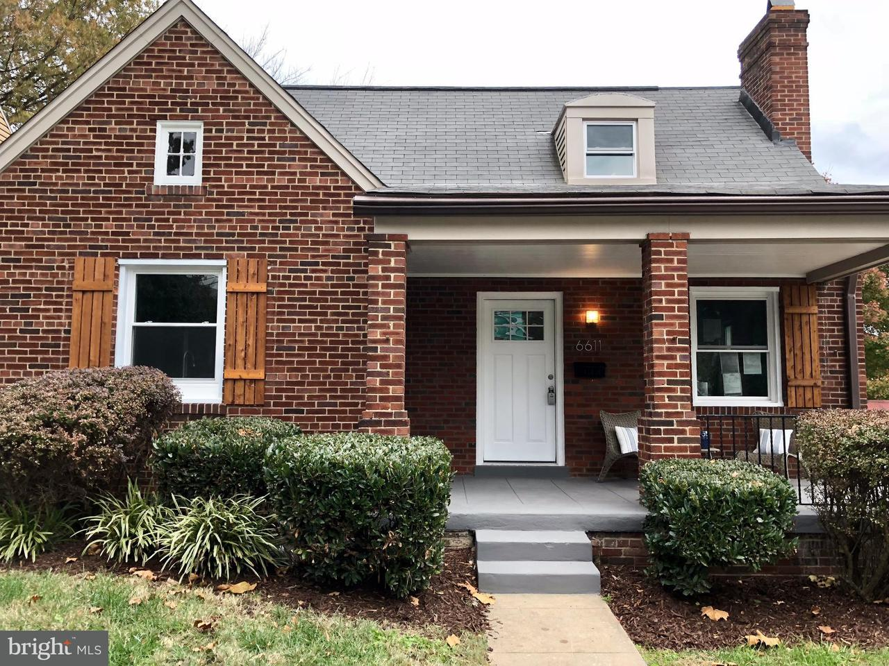 Single Family Home for Sale at 6611 7TH ST NW 6611 7TH ST NW Washington, District Of Columbia 20012 United States