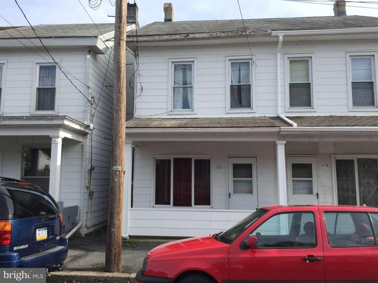 Townhouse for Sale at 111 VAUX Avenue Tremont, Pennsylvania 17981 United States