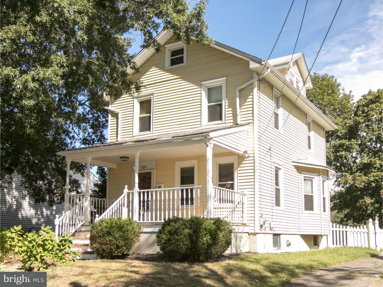 Частный односемейный дом для того Аренда на 119 MELROSE Avenue Haddon Township, Нью-Джерси 08108 Соединенные Штаты