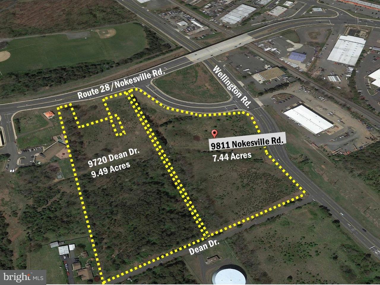 土地 のために 売買 アット 9811 NOKESVILLE Road 9811 NOKESVILLE Road Manassas, バージニア 20110 アメリカ合衆国