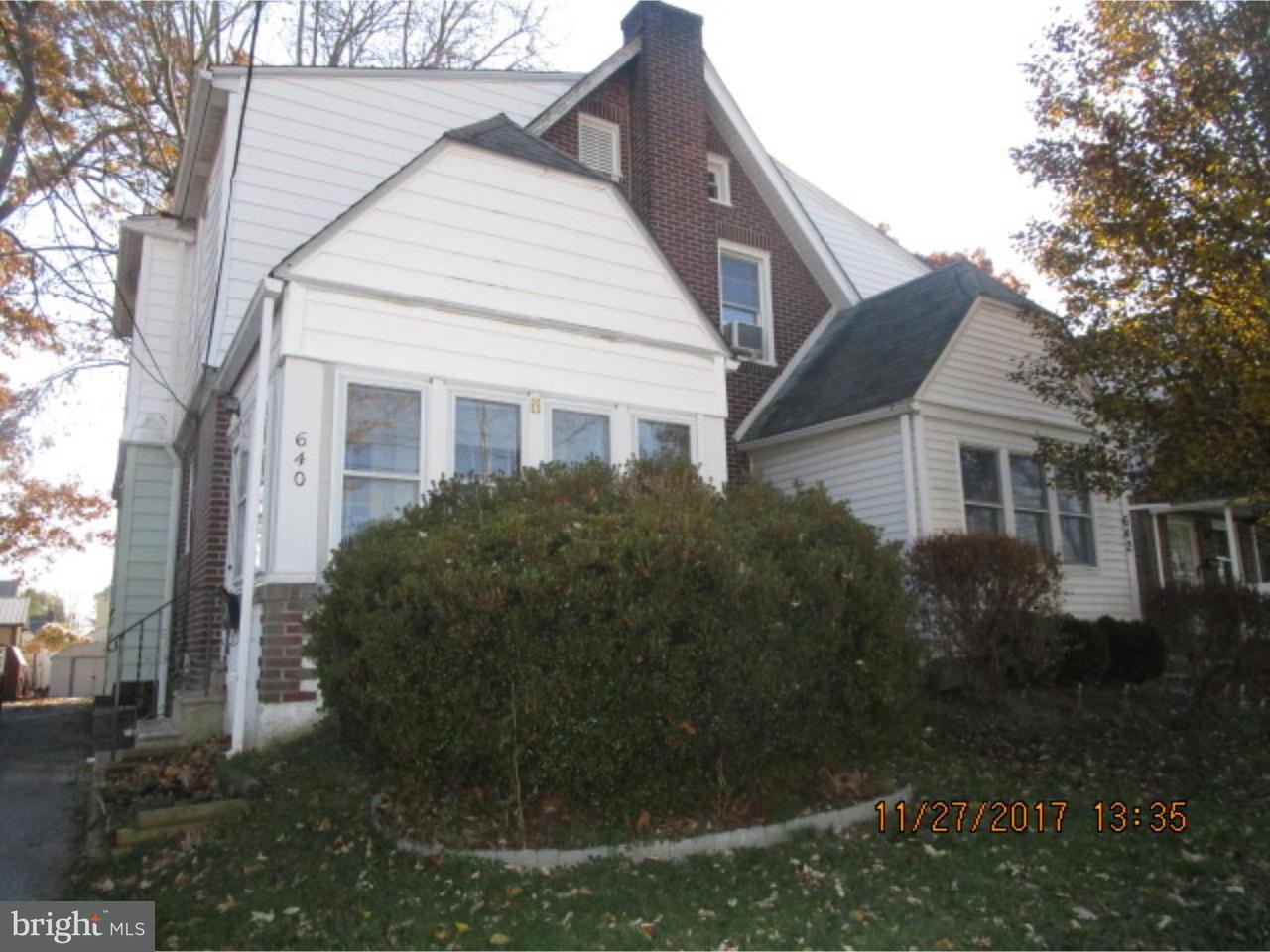 联栋屋 为 销售 在 640 15TH Avenue Prospect Park, 宾夕法尼亚州 19076 美国