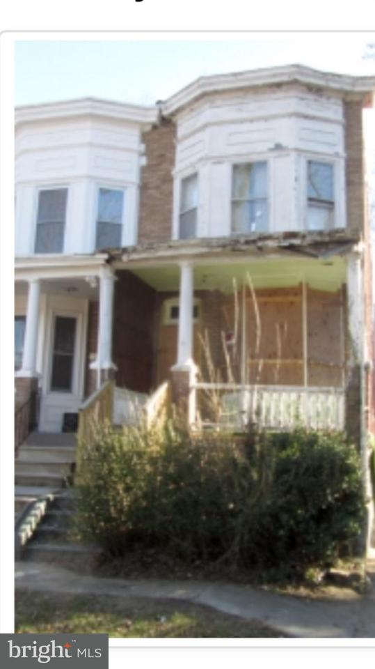 Single Family for Sale at 3209 Grayson St Baltimore, Maryland 21216 United States