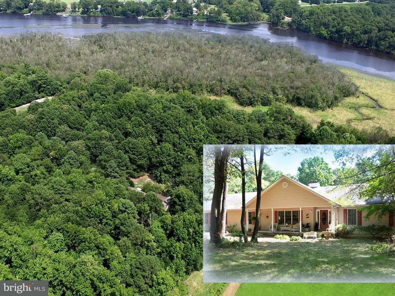 獨棟家庭住宅 為 出售 在 10605 RIVER Road 10605 RIVER Road Denton, 馬里蘭州 21629 美國