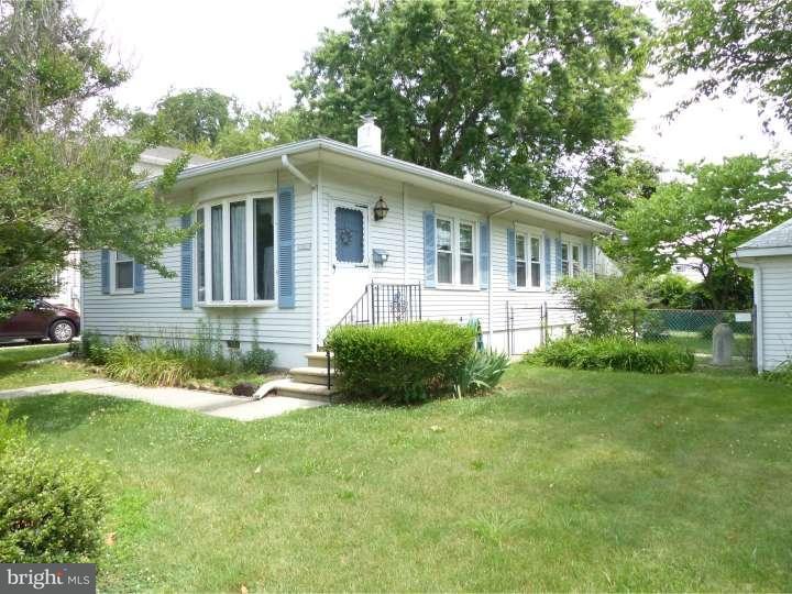 Частный односемейный дом для того Продажа на 39 S HOOD Avenue Audubon, Нью-Джерси 08106 Соединенные Штаты
