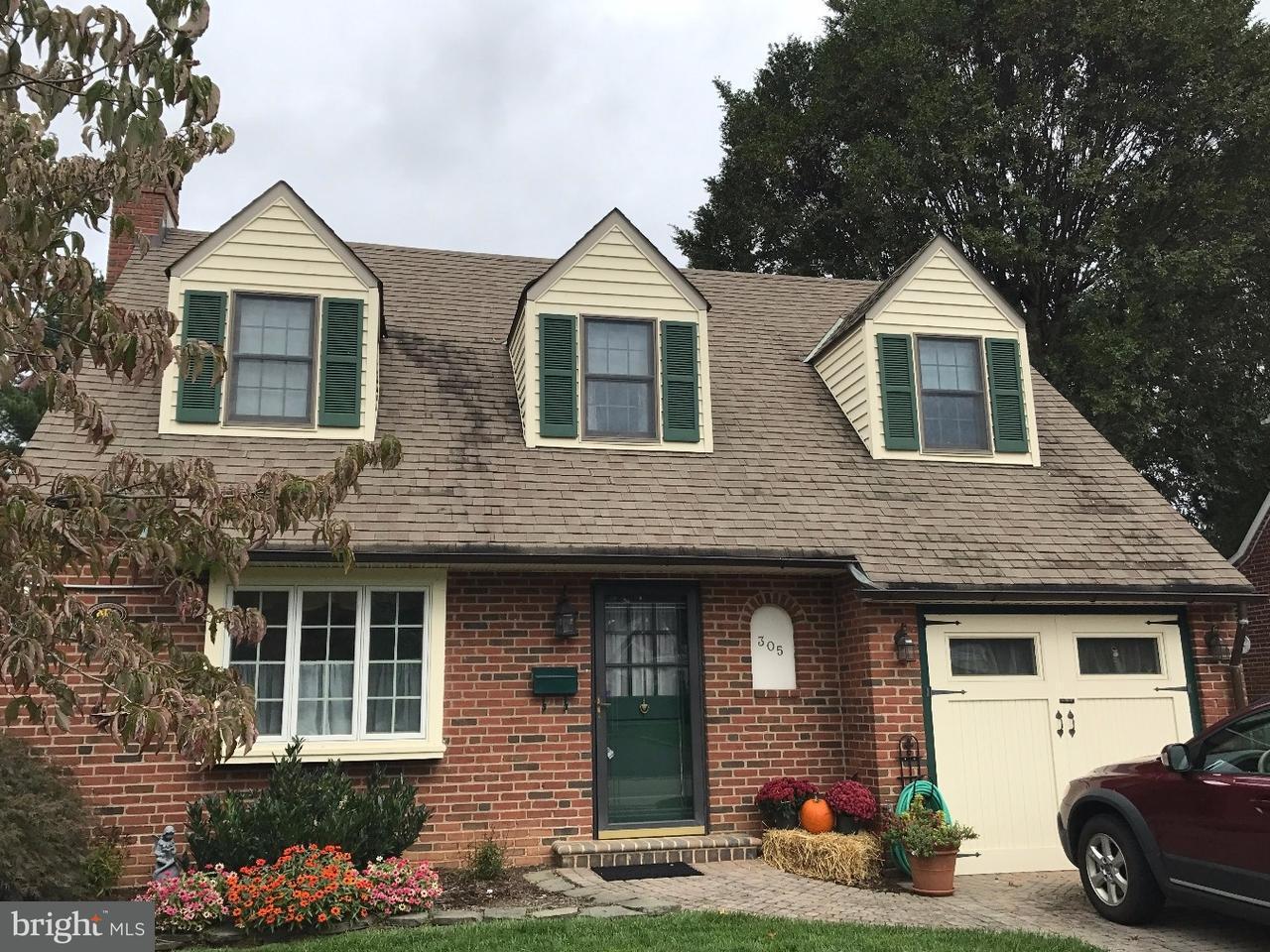 Частный односемейный дом для того Продажа на 305 BURTON Road Oreland, Пенсильвания 19075 Соединенные Штаты