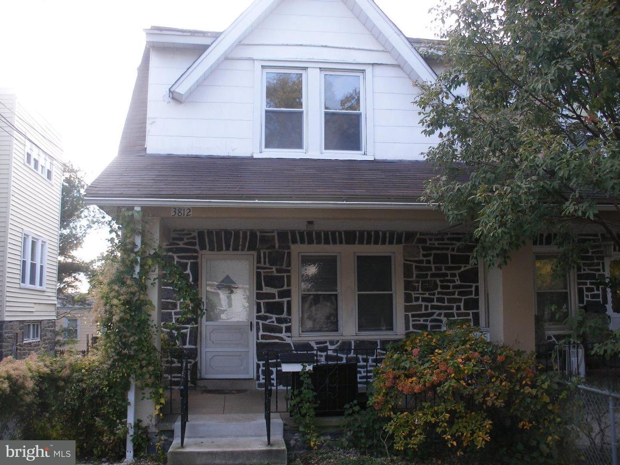 Townhouse for Rent at 3812 CREST Road Upper Darby, Pennsylvania 19026 United States