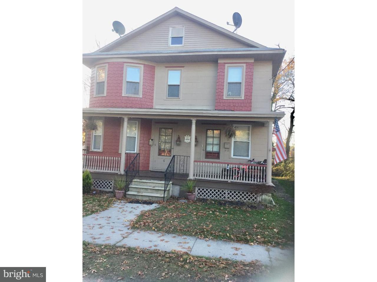 Dúplex por un Alquiler en 6 S MONROE Avenue Wenonah, Nueva Jersey 08090 Estados Unidos