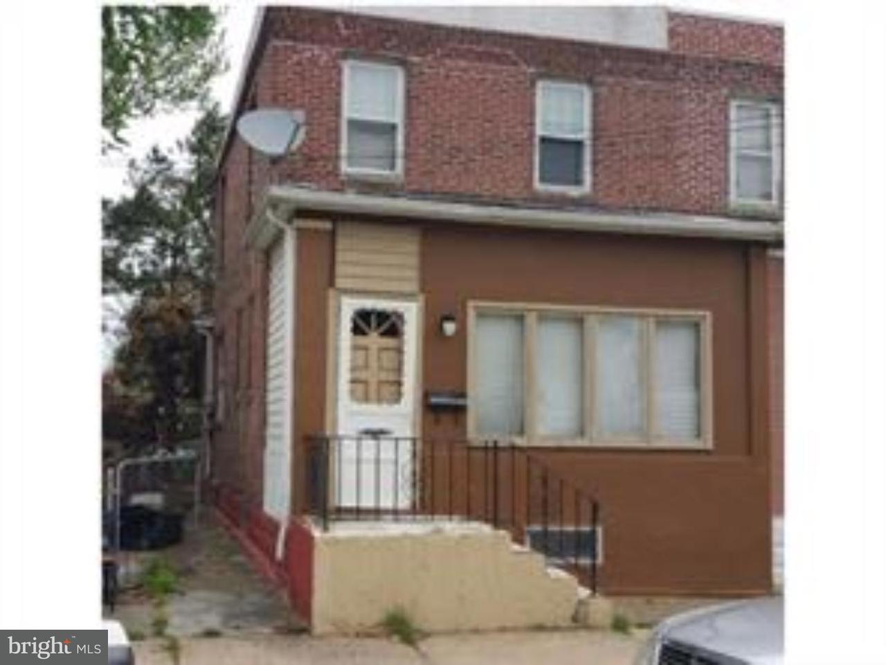 Таунхаус для того Продажа на 3044 FENWICK Road Camden, Нью-Джерси 08104 Соединенные Штаты