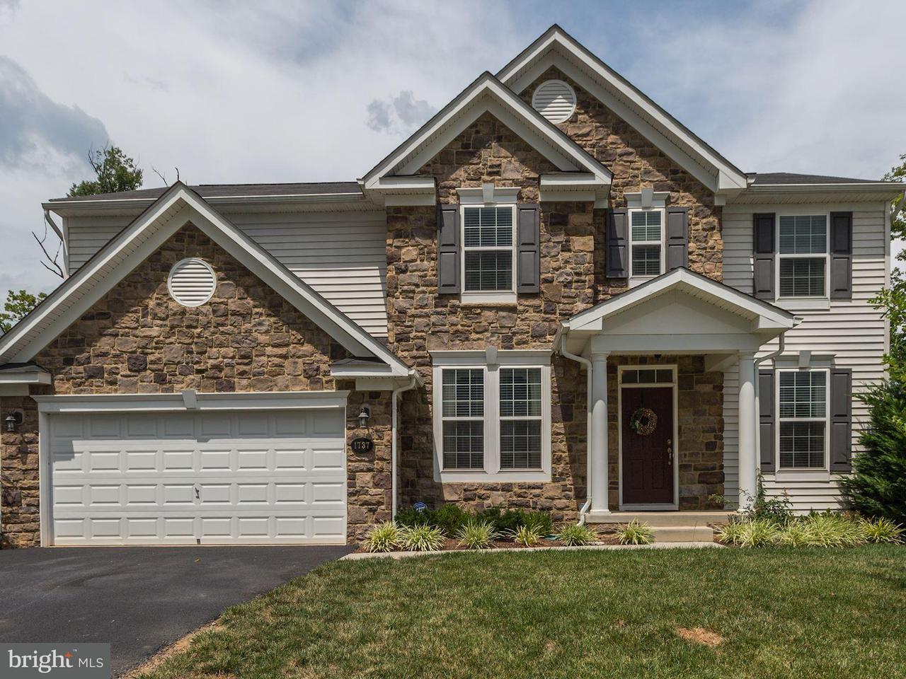 Casa Unifamiliar por un Venta en 1737 FLETCHERS Drive 1737 FLETCHERS Drive Point Of Rocks, Maryland 21777 Estados Unidos