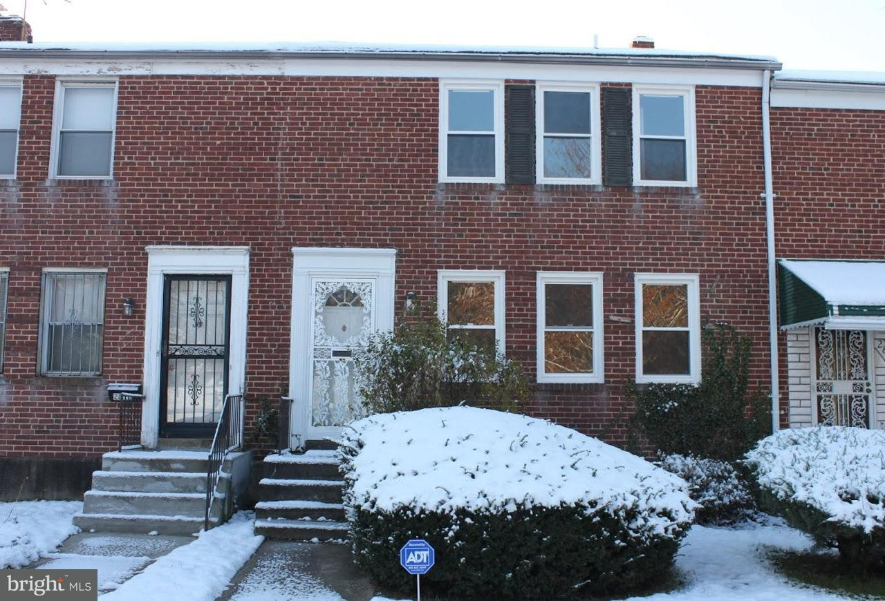 Single Family for Sale at 2813 Gwynns Falls Pkwy Baltimore, Maryland 21216 United States