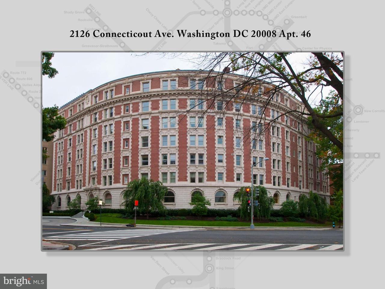 Single Family Home for Sale at 2126 CONNECTICUT AVE NW #46 2126 CONNECTICUT AVE NW #46 Washington, District Of Columbia 20008 United States